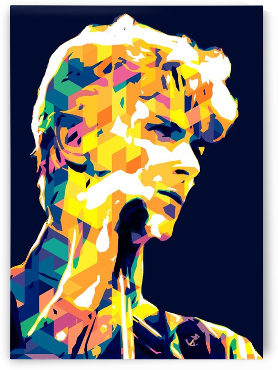 David Bowie POP ART Collection 6 by RANGGA OZI