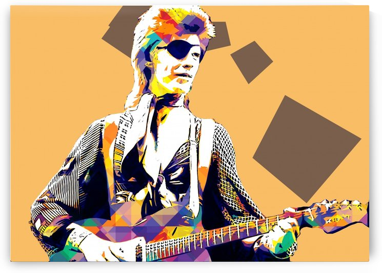 David Bowie POP ART Collection 4 by RANGGA OZI