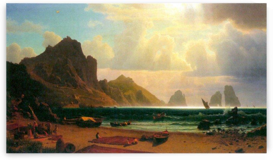 Marina Piccola, Capri by Bierstadt by Bierstadt