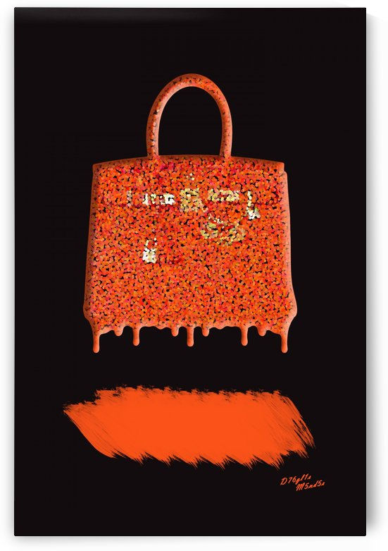 H Bag Orange by D76gl1s M5nd5s