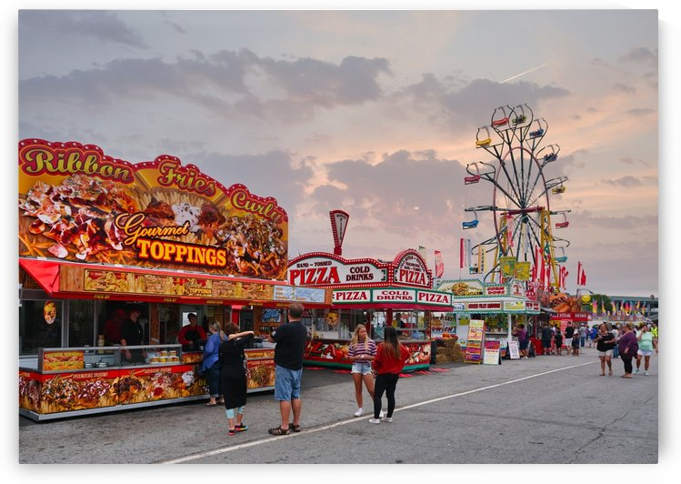 Fairway at the Carnival by Darryl Brooks