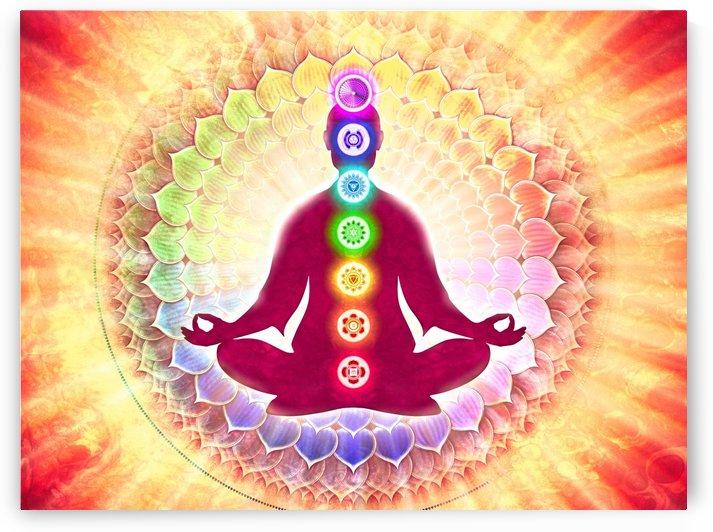In Meditation With Chakras - Harmonizing Energy by Dirk Czarnota
