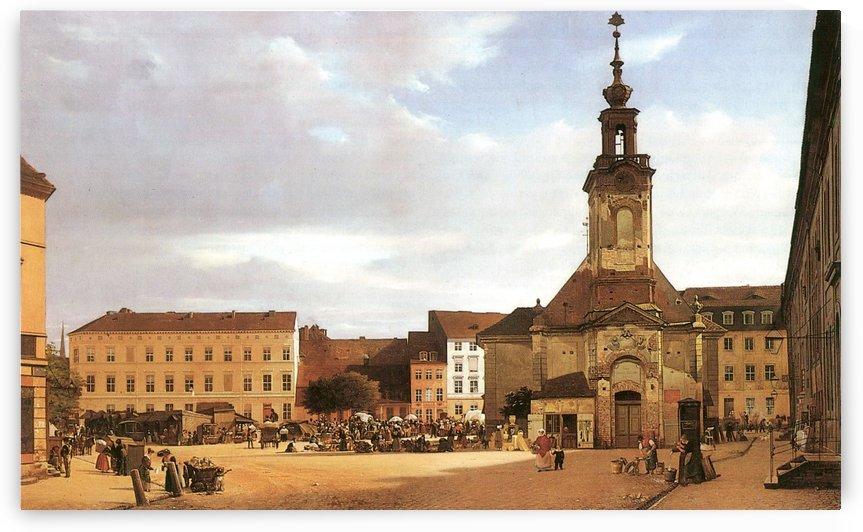 Spittelmarkt by Eduard Gaertner