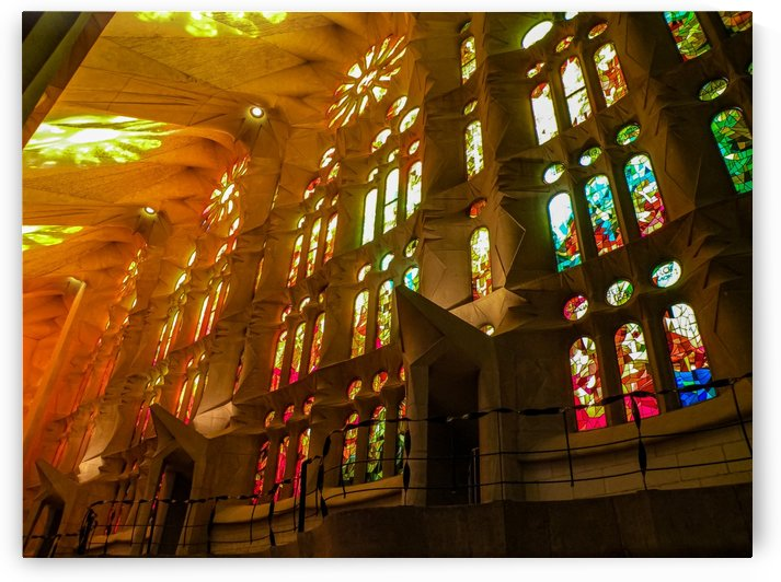 Golden Hour at Sagrada Familia by Jamie Hopper