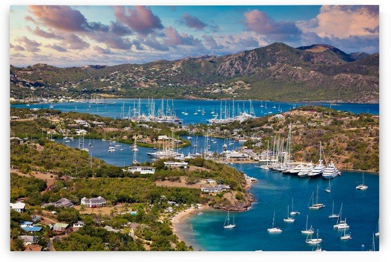 Antigua Yacht Club by Darryl Brooks