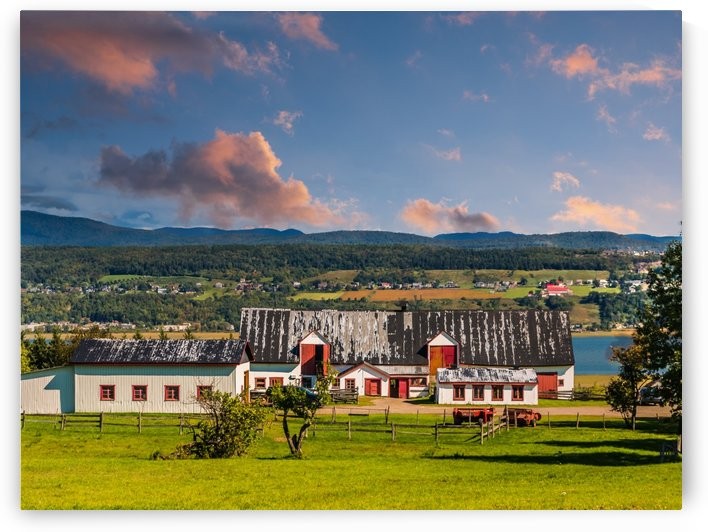 Old Farm Building in Quebec by Darryl Brooks