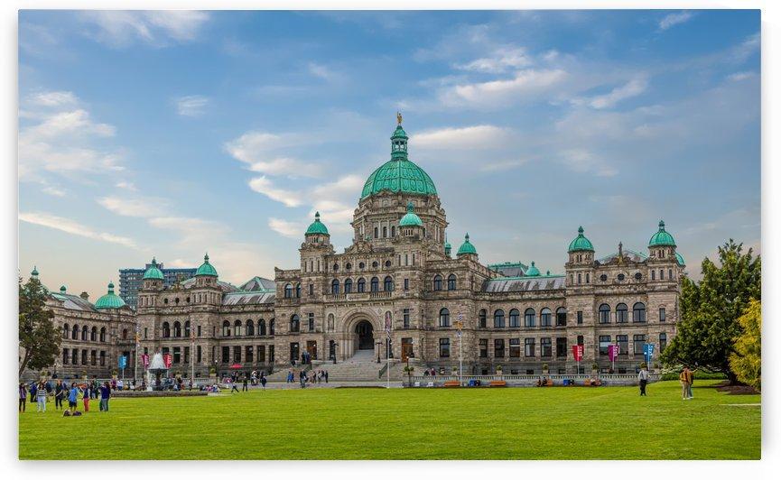 British Columbia Parliament by Darryl Brooks