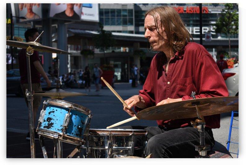 Street Drummer by Cameraman Klein
