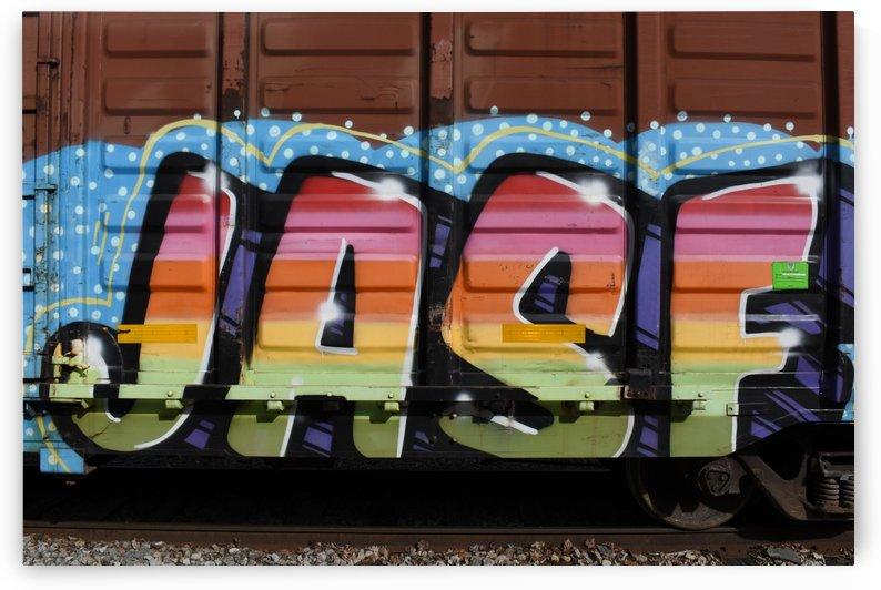 Train Graffiti by Cameraman Klein