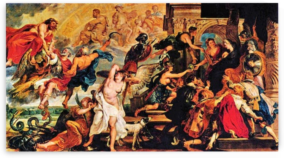 Medici s and the Apotheosis of Henry IV by Rubens by Rubens