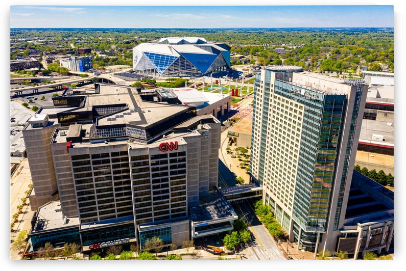 CNN Center Aerial View   Atlanta GA 0588 by @ThePhotourist