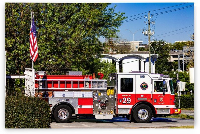 City of Atlanta Fire Engine No 29 6648 by @ThePhotourist