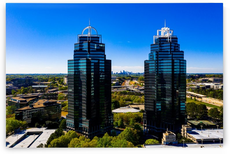 King and Queen Buildings   Atlanta GA 0556 by @ThePhotourist