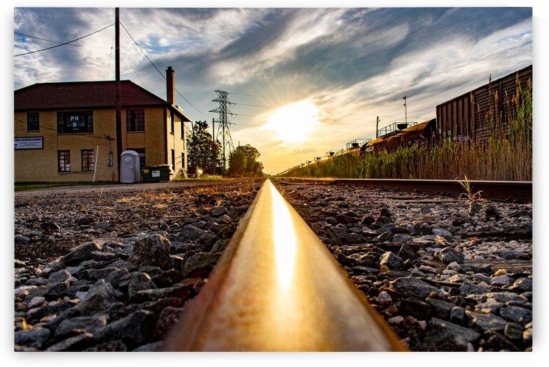 Train Tracks by Cameraman Klein
