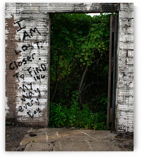 Doorway Graffiti by Cameraman Klein