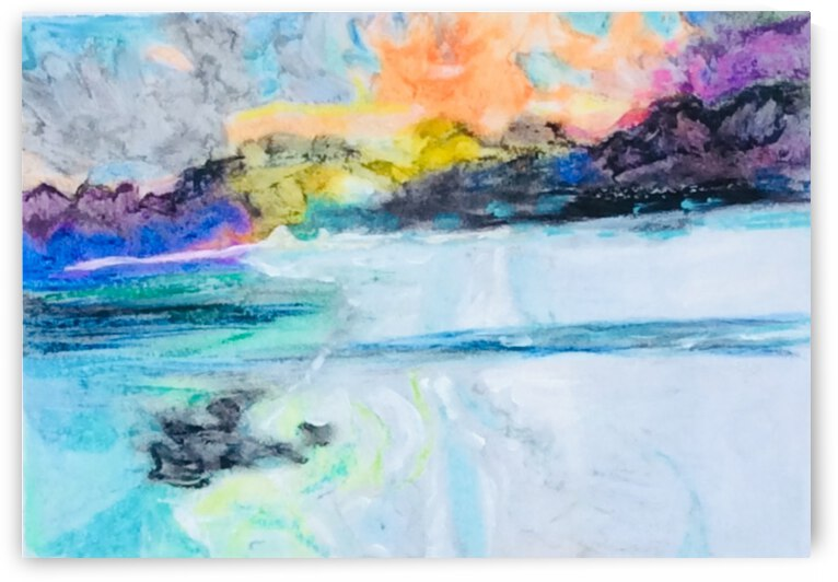 From  the mountains to the sea  by Zaramar Paintings