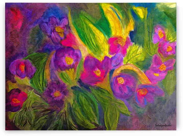 Purple Favorites by Aurelia Schanzenbacher Sisters Fine Arts