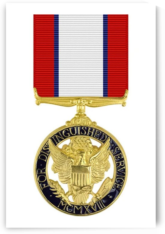 Distinguished Service Medal by ArmyFacts com