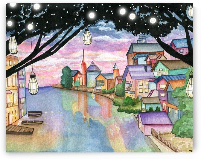 treelantern by Drip Drop Watercolors