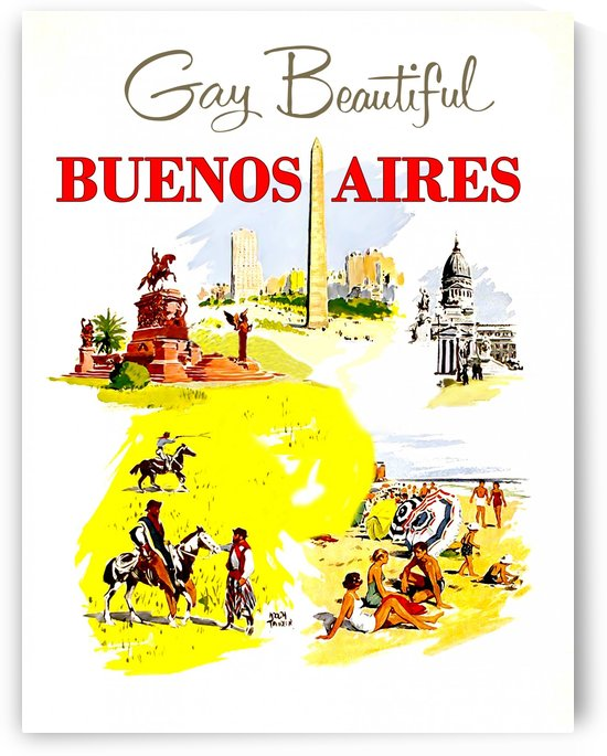 Buenos Aires by vintagesupreme