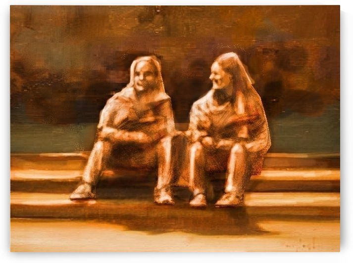 Friends Away by David Flett