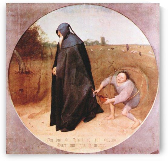 Misanthrope by Pieter Bruegel by Pieter Bruegel