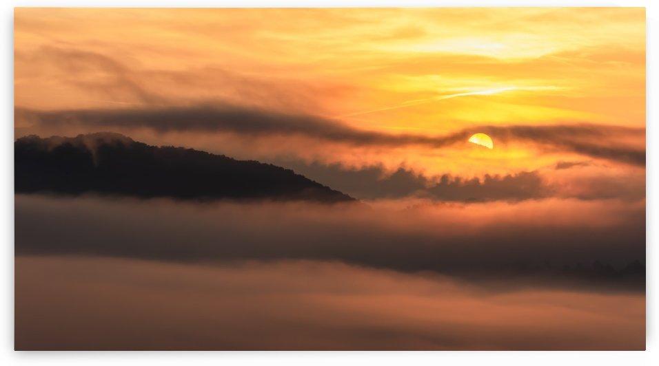 Cloudy Sunrise by Diane Lynn