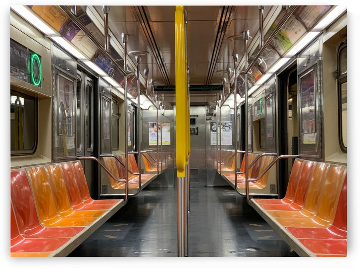 NYC Subway by Photomaul