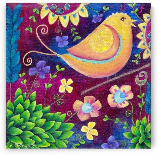 Bird Song by SunshyneArt