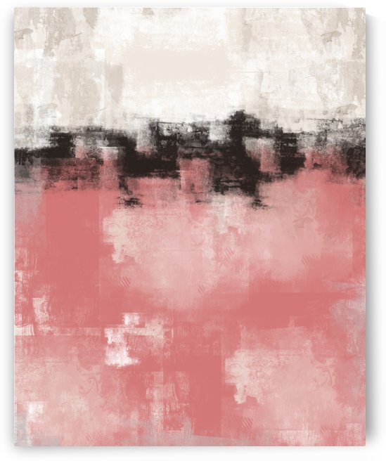 Abstract Pink Black Gray DAP 20011 by Edit Voros