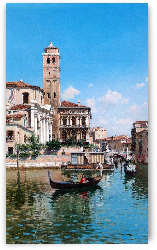 The Palazzo Labia, Venice by Federico Del Campo