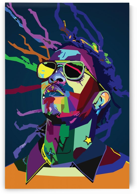 Young Thug Rapper Wpap Pop Art by Long Art