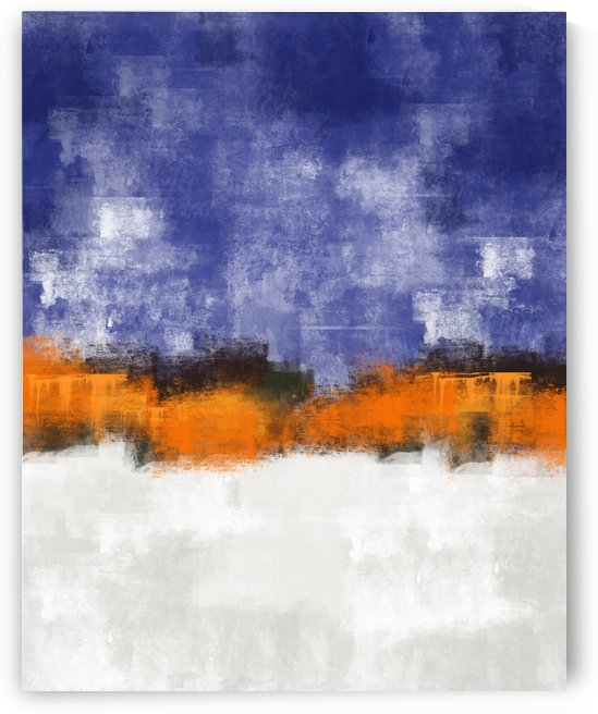 Lavender Gray Abstract DAP 20024 by Edit Voros
