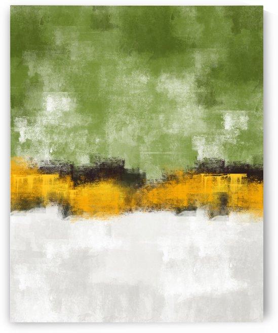 Green Gray Abstract DAP 20025 by Edit Voros