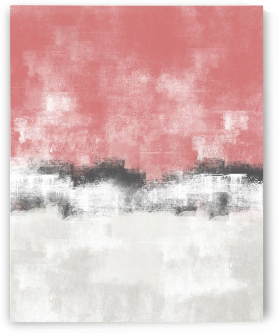 Pink Gray Abstract DAP 20028 by Edit Voros