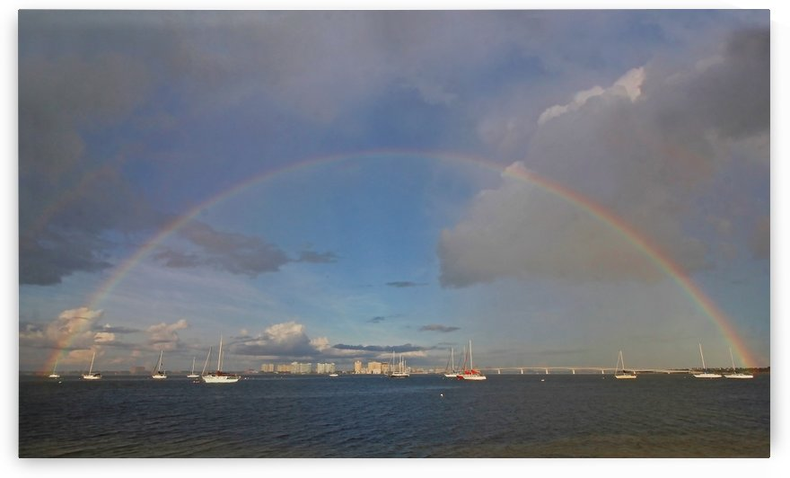 A Summer Rainbow by HH Photography of Florida