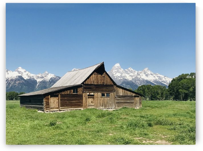 T.A. Moulton barn: Grand Teton National Park by Perspectives Photography by Katie Johnson