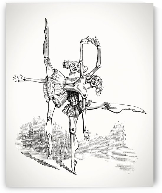 JJGrandville Puppet Dancers by Tauna Jean