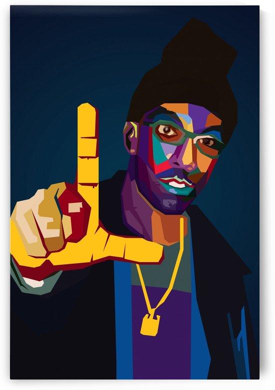 Big L Rapper by Long Art