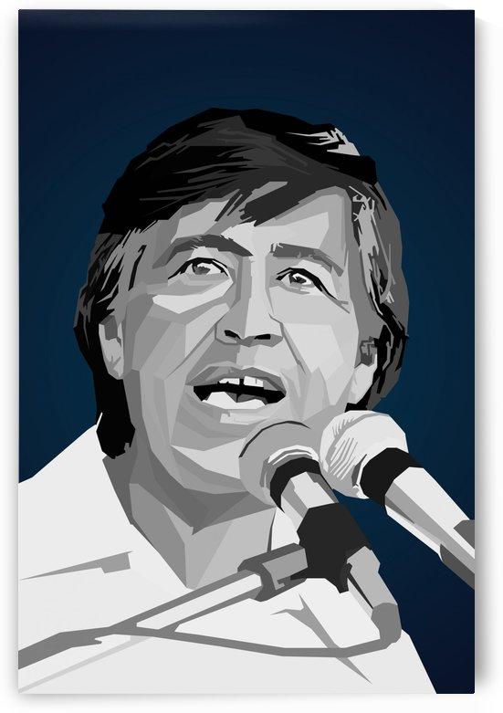 Cesar Chavez wpap popart by Long Art