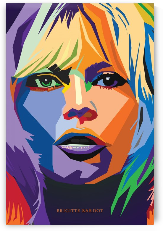 Brigitte Bardot wpap art by Long Art