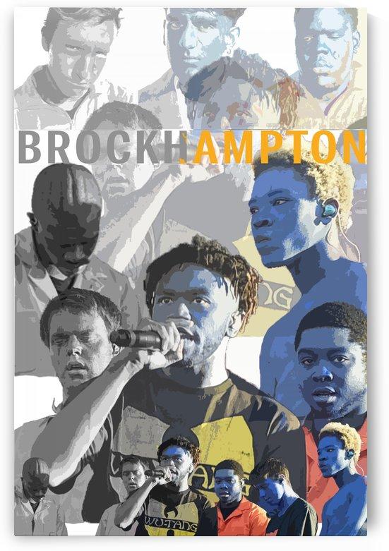 Brockhampton Band by Long Art