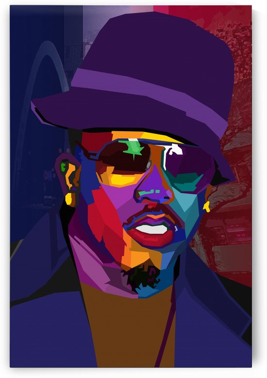 Big Boi Rapper by Long Art