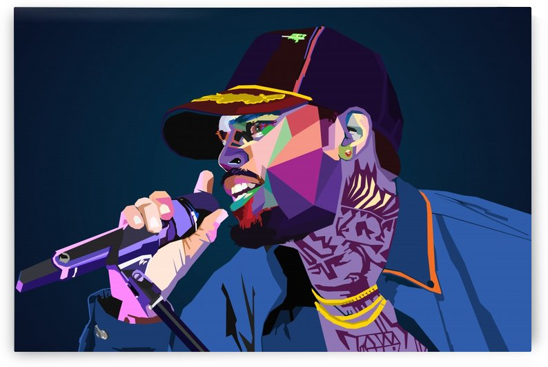 Chris Brown singer by Long Art