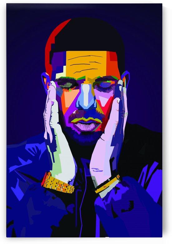 Drake Rapper Wpap Musician by Long Art