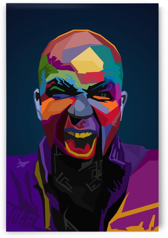 Tech N9ne wpap Art by Long Art