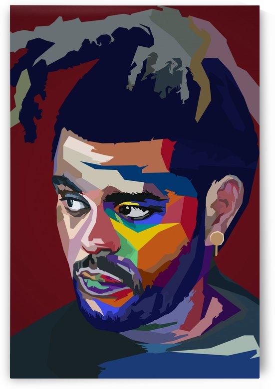 The Weeknd by Long Art