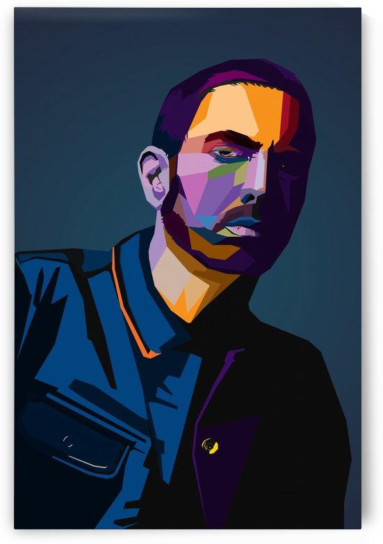Eminem Wpap Art by Long Art