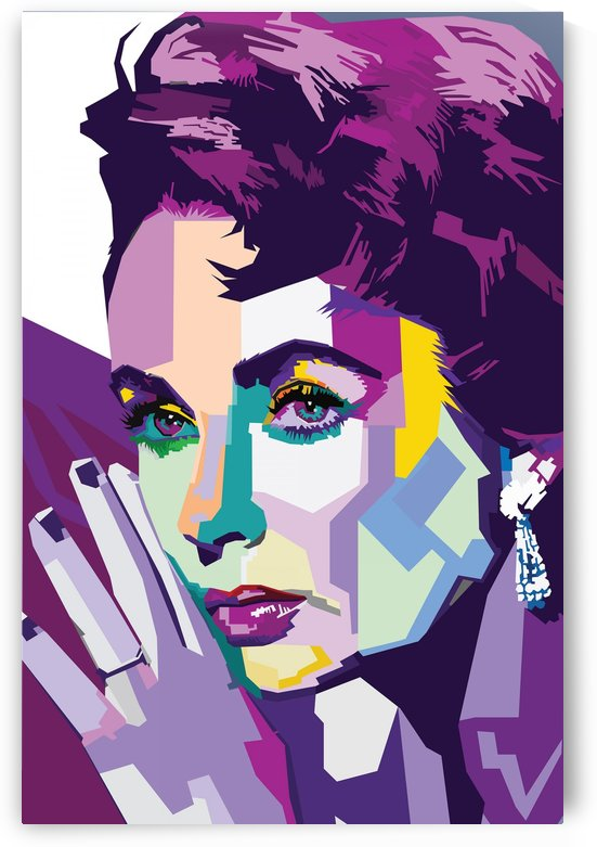 Elizabeth Taylor WPAP Art by Long Art