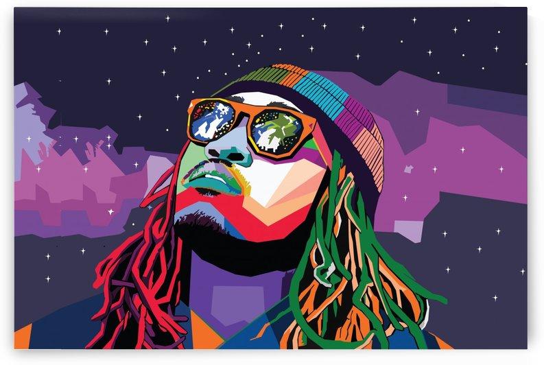 Future Rapper wpap Art by Long Art